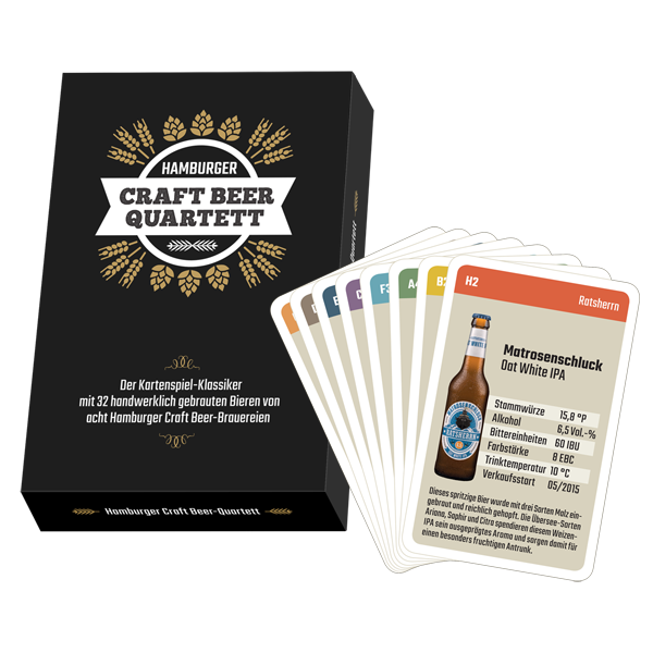 Hamburger Craft Beer-Quartett